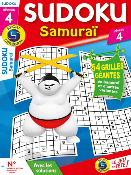 Subscription SC SUDOKU SAMURAI N4