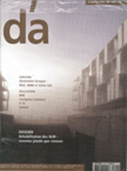 Subscription D'A/D'ARCHITECTURES
