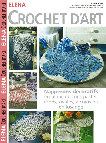 Abonnement ELENA CROCHET D'ART