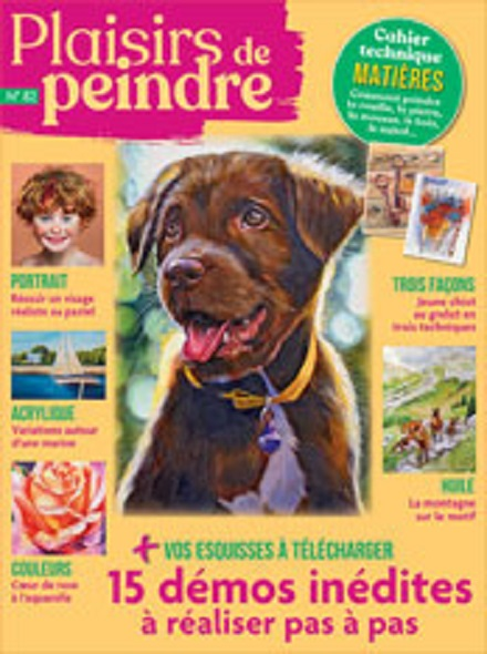Subscription PLAISIRS DE PEINDRE