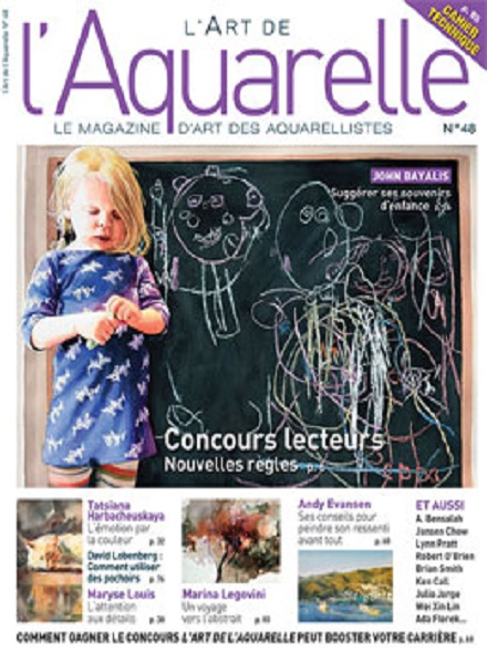 Subscription L'ART DE L'AQUARELLE