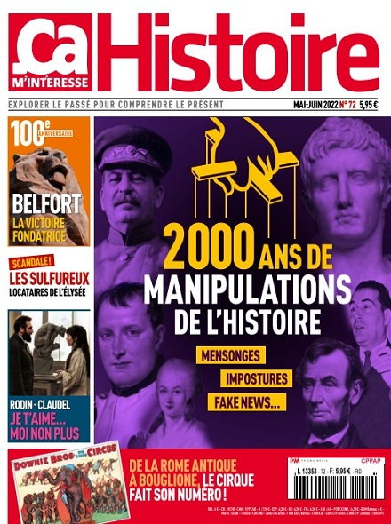 Subscription CA M'INTERESSE HISTOIRE