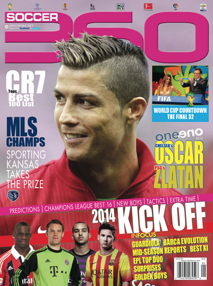 Subscription SOCCER 360 MAGAZINE