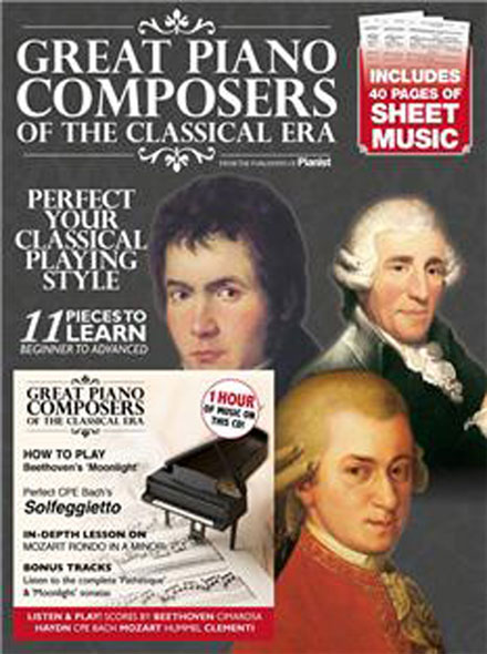 GREAT PIANO COMPOSERS OF THE CLASSICAL ERA