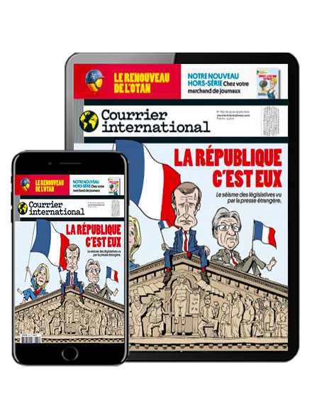 COURRIER INTERNATIONAL VERSION NUMERIQUE