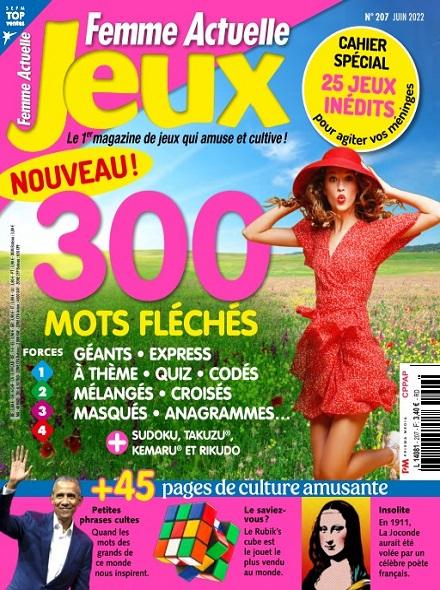FEMME ACTUELLE JEUX - Magazines - Express Mag