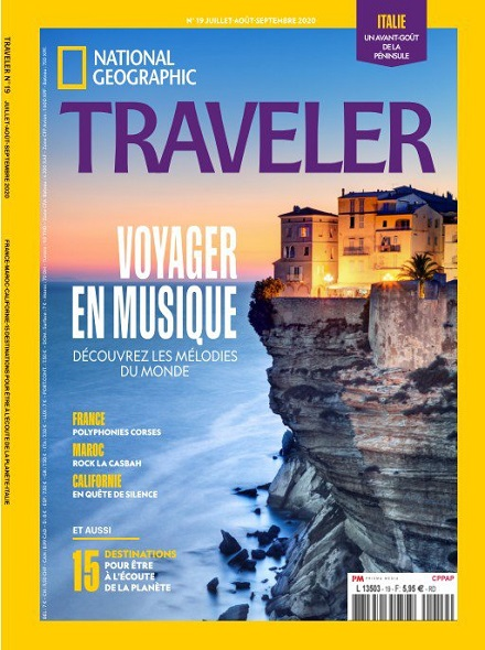 NATIONAL GEOGRAPHIC TRAVELER (VERSION FRANÇAISE)