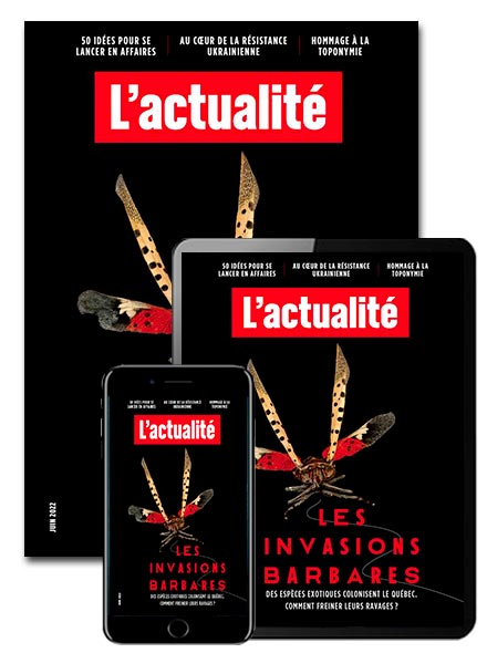 Subscription L'ACTUALITÉ