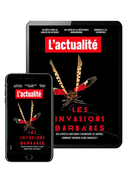 Subscription L'ACTUALITÉ VERSION NUMERIQUE