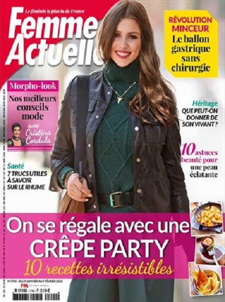 Subscription FEMME ACTUELLE