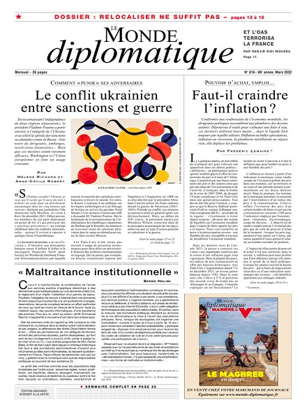 Subscription LE MONDE DIPLOMATIQUE