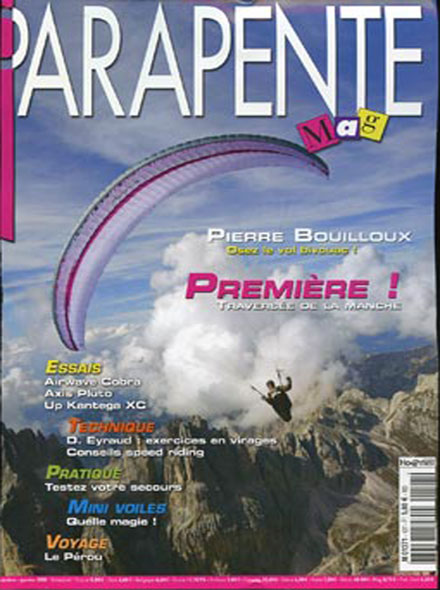 Subscription PARAPENTE MAG