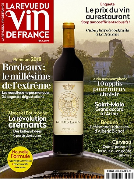 Subscription LA REVUE DU VIN DE FRANCE
