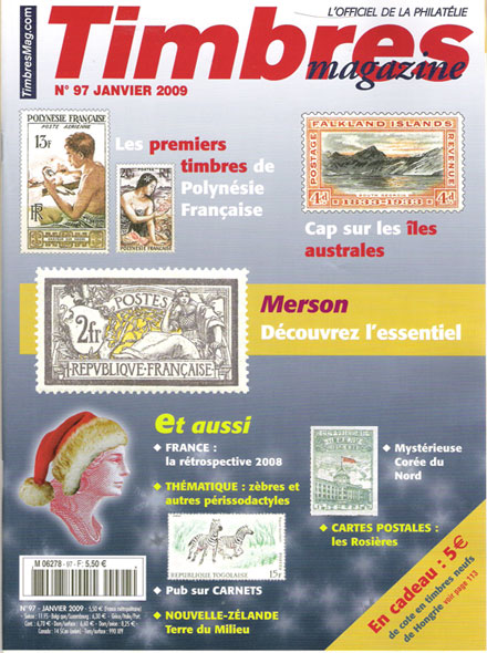 Subscription TIMBRES MAGAZINE