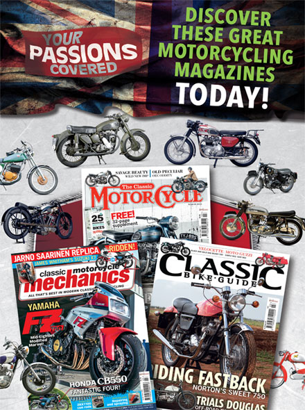 Abonnement CLASSIC MOTORCYCLE MECHANICS