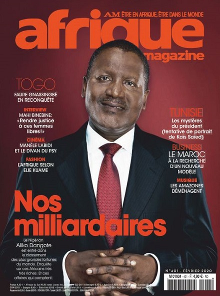 Subscription AFRIQUE MAGAZINE
