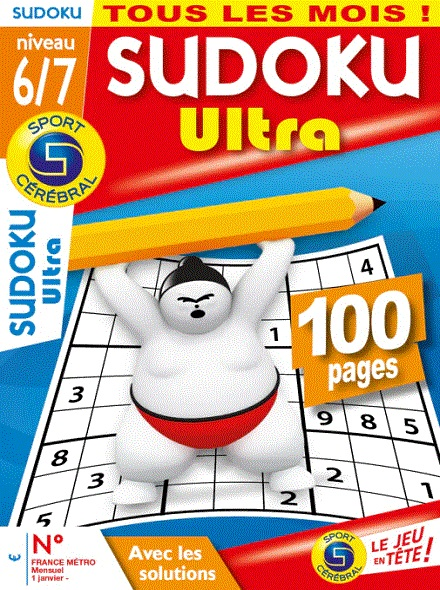Subscription SUDOKU ULTRA NIV 6-7